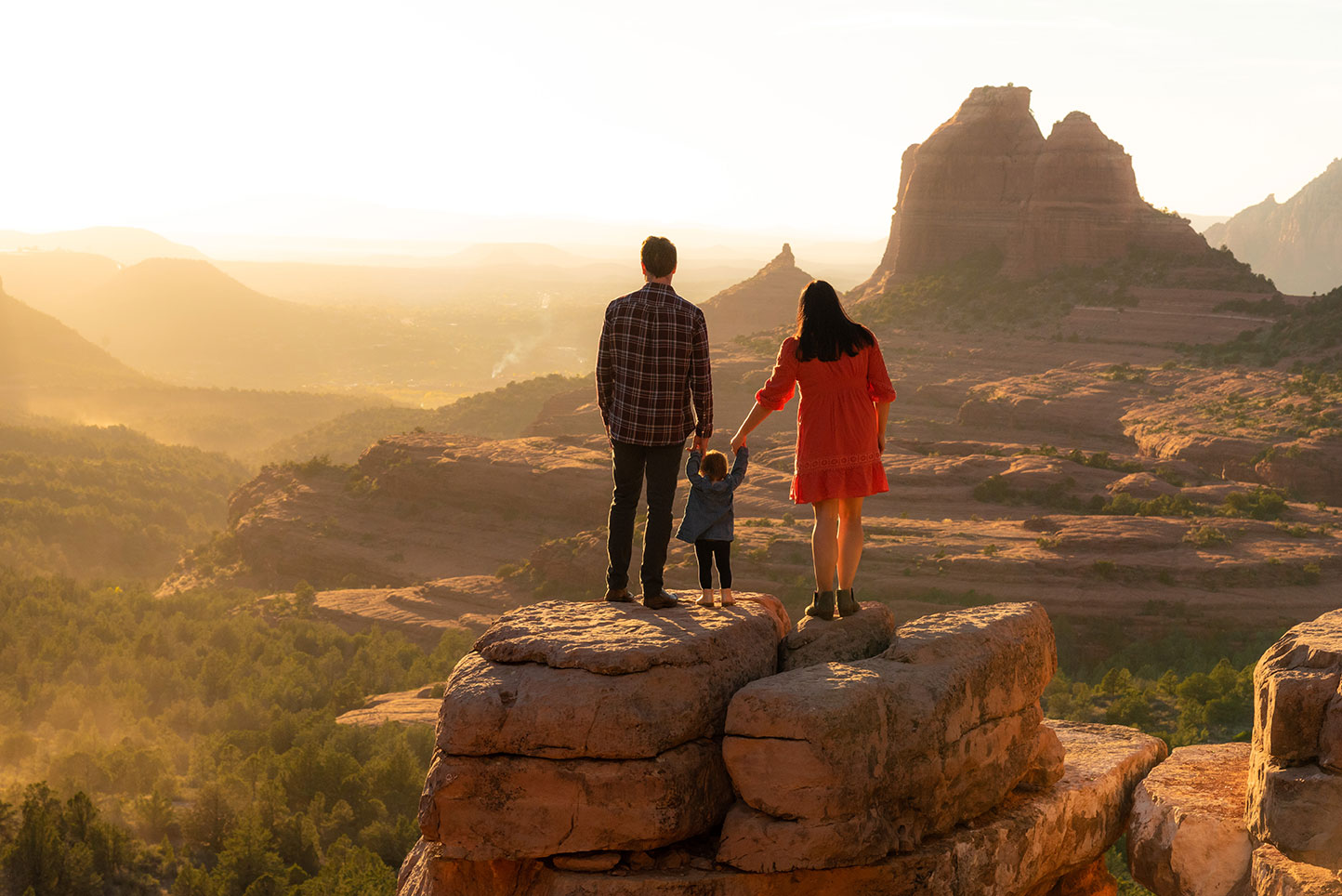 Family Adventure Photoshoot, Sedona, Arizona, Schnebly Hill,  Lifestyle, Adventure Photographer Daniel Britton