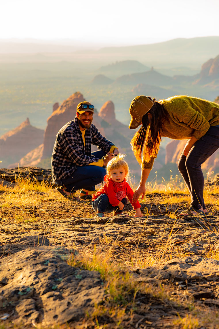 Family Photoshoot Sedona, AZ. Lifestyle, Adventure Photographer, Daniel Britton