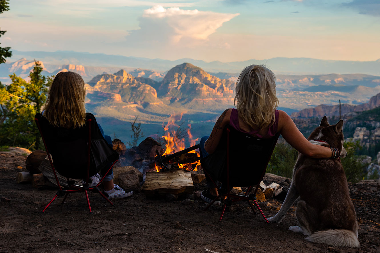 Camping End of the World Sedona, Az. Adventure, Lifestyle Photographer Daniel Britton.