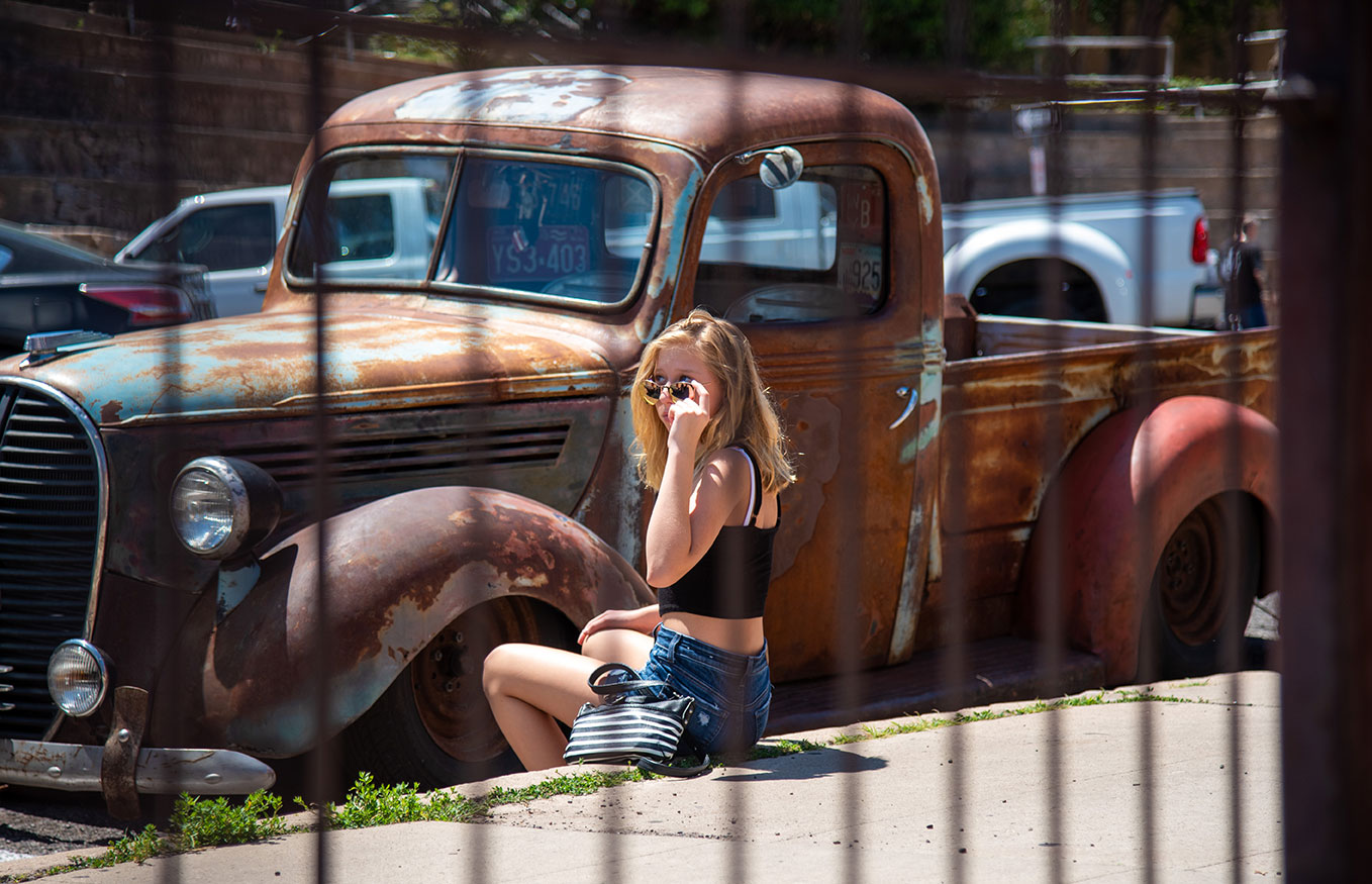 Lifestyle Photoshoot, Jerome, Arizona, Antique Truck, Photographer, Daniel Britton