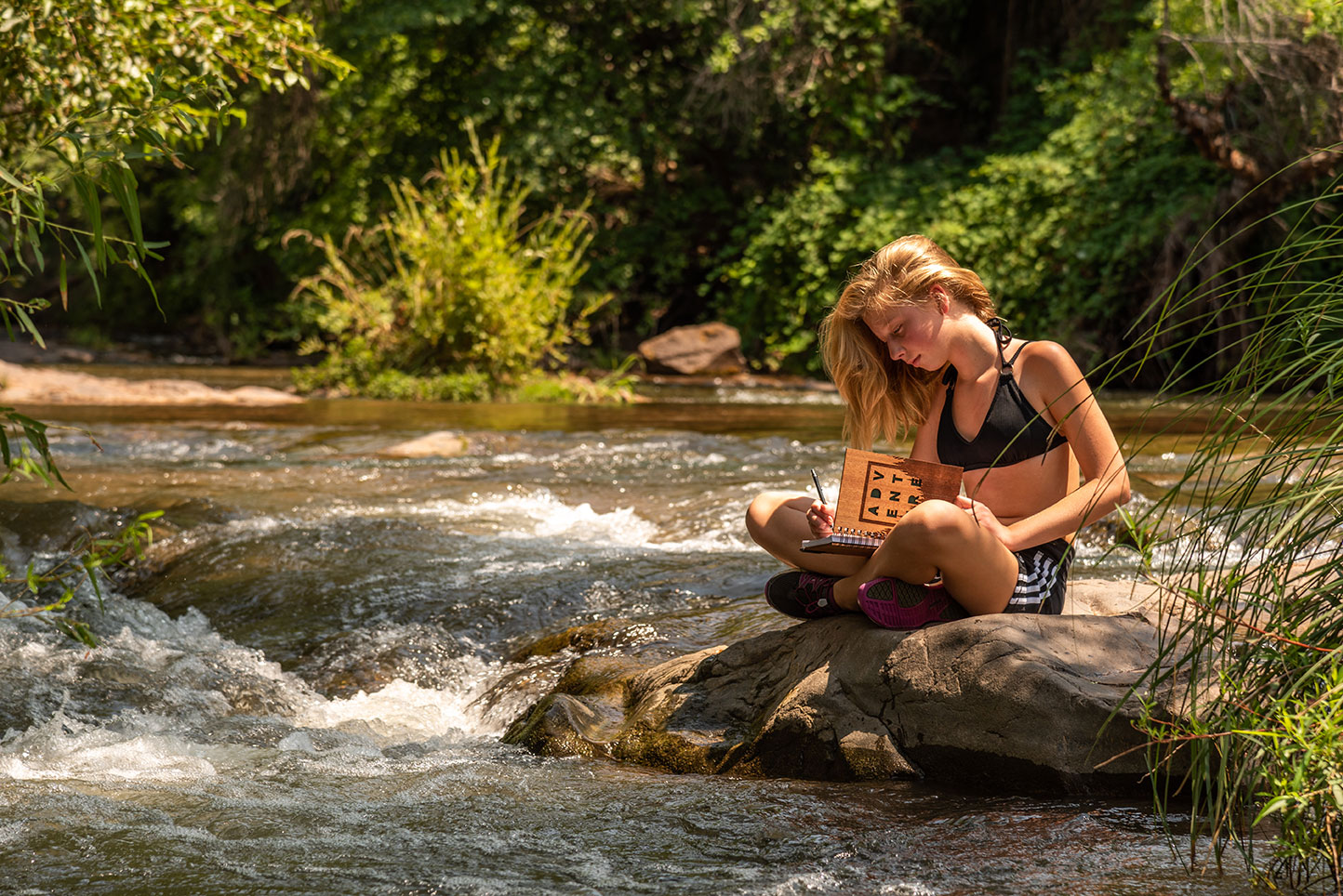 Woodchuck USA Wooden Journal Oak Creek Sedona, Az. Daniel Britton Lifestyle Photographer