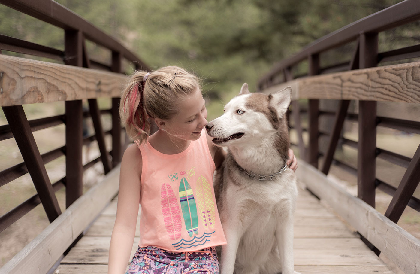 Girl and Her Husky, Photoshoot, Mount Charleston, Nevada, Lifestyle Adventure Photographer, Daniel Britton