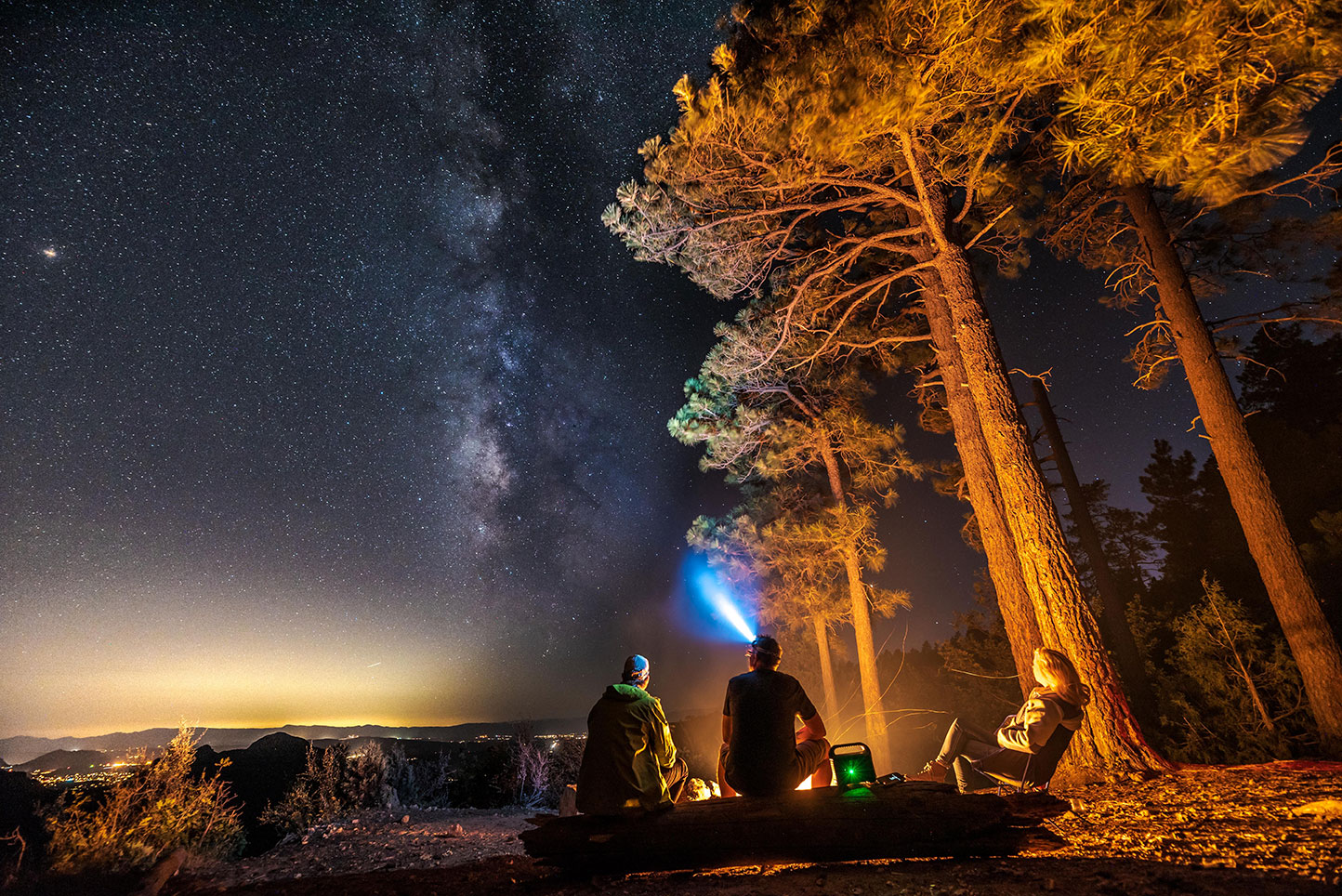 Camping, Milky Way,  Stars, Lux Pro Flashlights, Night Photography, Lifestyle, Adventure Photographer, Daniel Britton