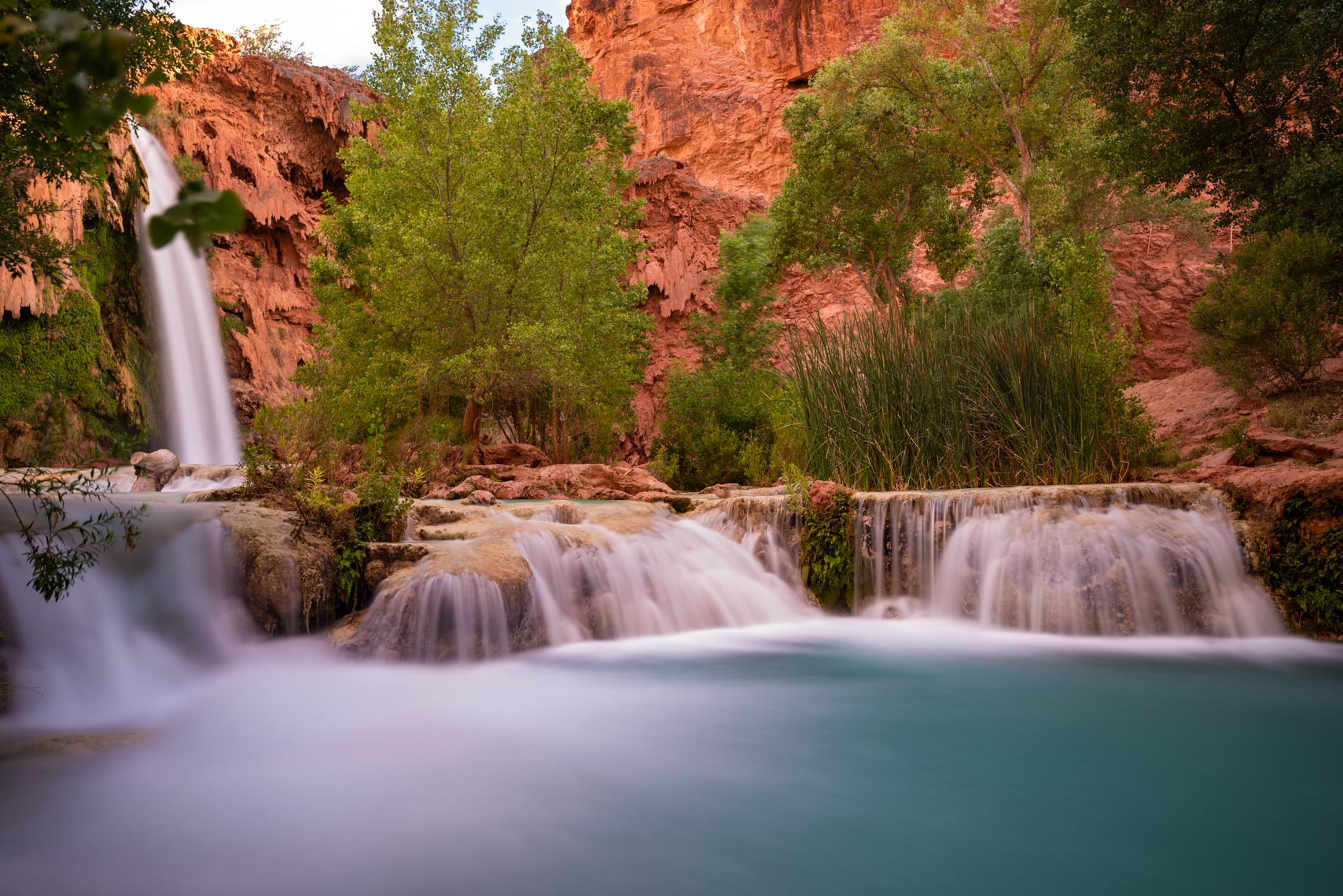 Landscape Photography, Havasupai Falls, Arizona, Grand Canyon
