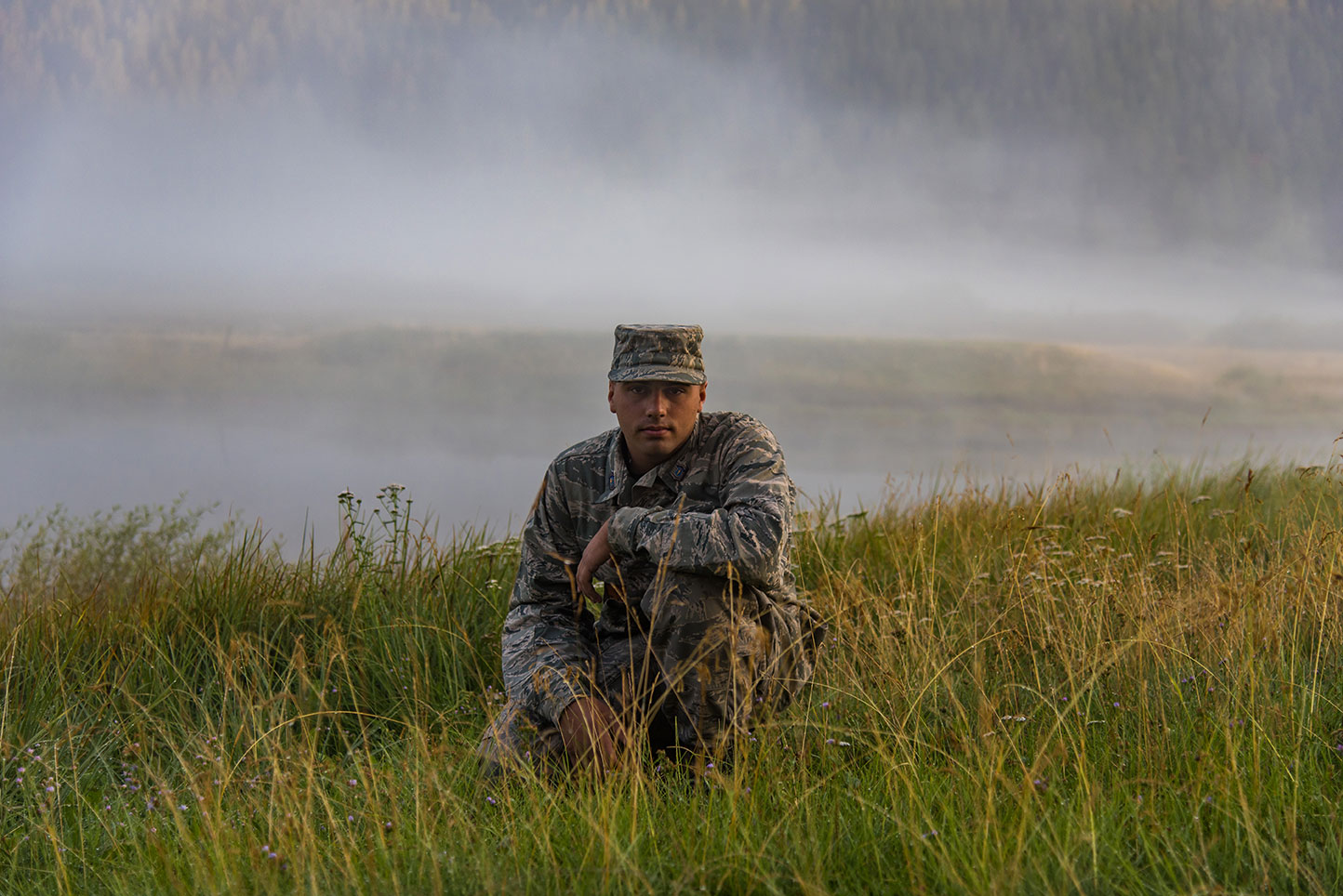 Portrait Photography, Military, Squaw Valley, Lake Tahoe, Fog, Portrait Lifestyle Photographer, Daniel Britton